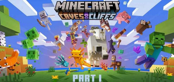 Featured image on Minecraft Cave and Cliffs Release Date news article.