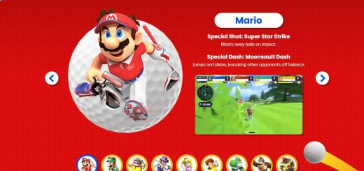 Featured image on Mario Golf Super Rush Website news article.