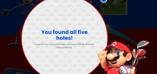Featured image on Mario Golf Super Rush Website Holes locations guide.