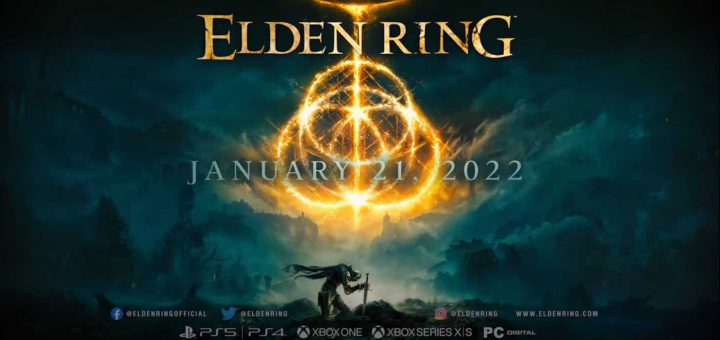 Featured image on Elden Ring release date and trailer news article.