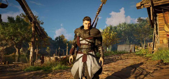 Featured image on Assassin's Creed Valhalla Basim Armor Set Unlock Guide.