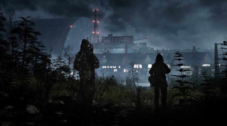 Image showing a screenshot from the Chernobylite game.