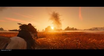 Ghost of Tsushima Director's Cut PS5 screenshot.