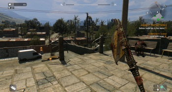 The Wasp weapon in Dying Light.