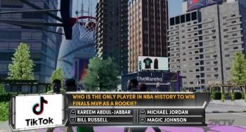 NBA 2K21 2KTV Episode 45 question.