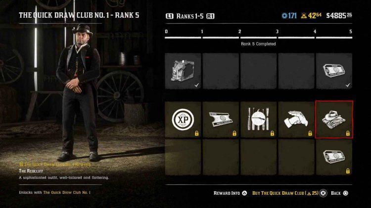Red Dead Online Dutch's outfit screenshot.