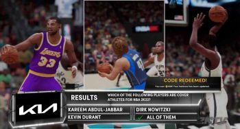 NBA 2K21 Episode 47 screenshot of an episode question.