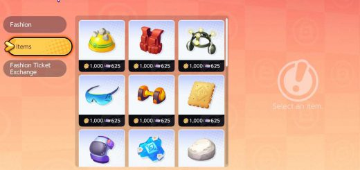 Held Items in Pokemon Unite store.
