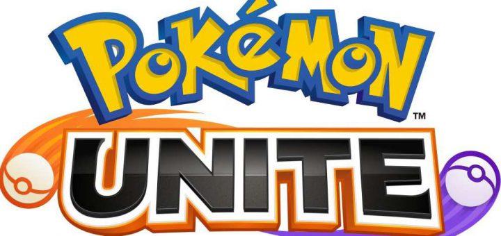 Pokemon Unite logo image.