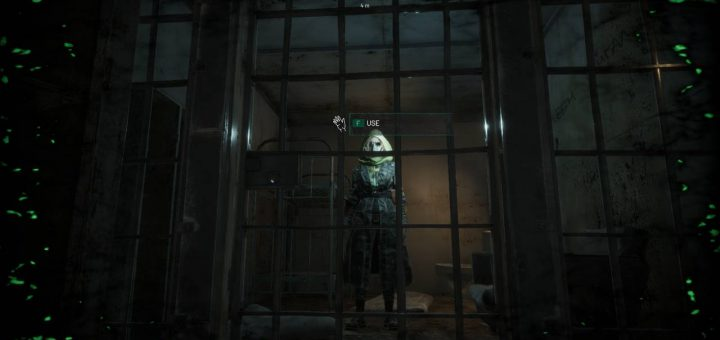 Companion in the Jail Base in Chernobylite.