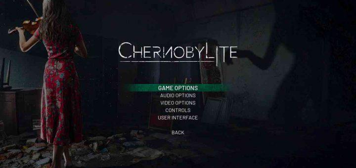 Chernobylite starting screen.