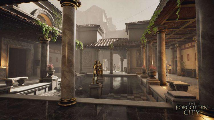 Screenshot from The Forgotten City.