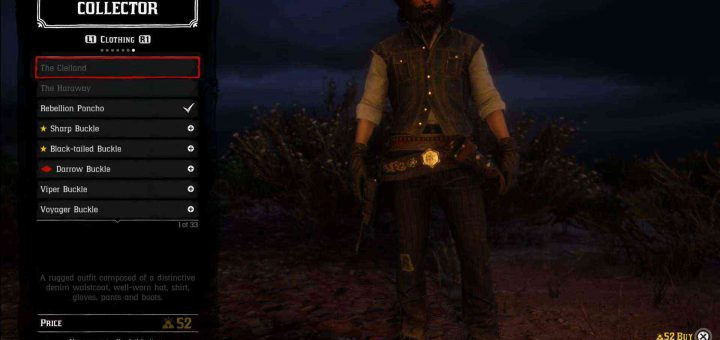 Red Dead Online John's Outfit