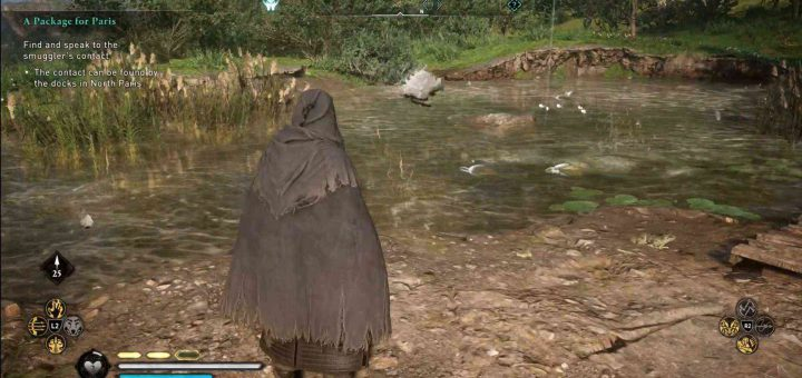 Featured image on Assassin's Creed Valhalla European Pond Turtle Locations guide.