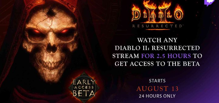 Featured image on How to Get Diablo II: Resurrected Beta Key from Twitch guide.