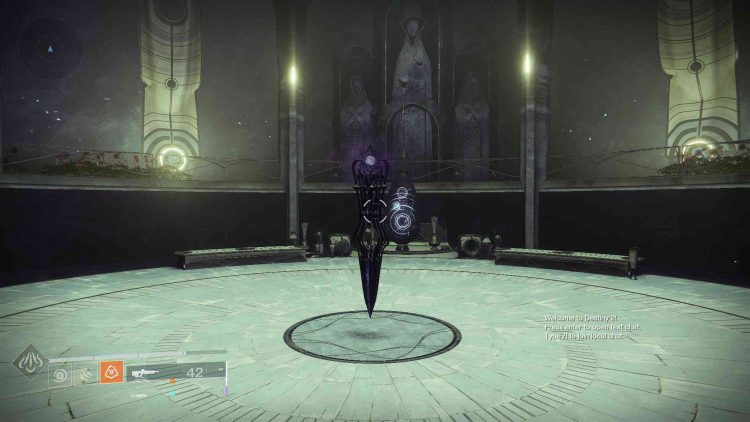 Image showing the Wayfinder's Compass in Destiny 2.