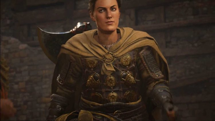 Image showing the England's Protector champion in Assassin's Creed Valhalla.
