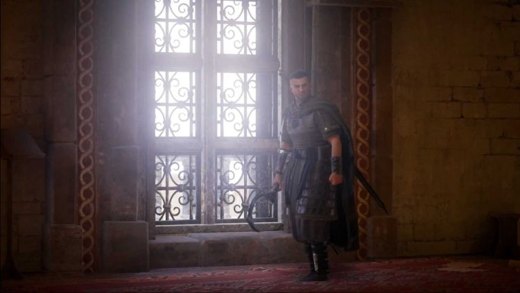 Image showing the Francia's Anointed boss in AC Valhalla.