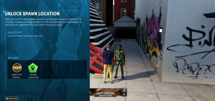 Featured image on How to Unlock Spawn Points in NBA 2K22 guide.