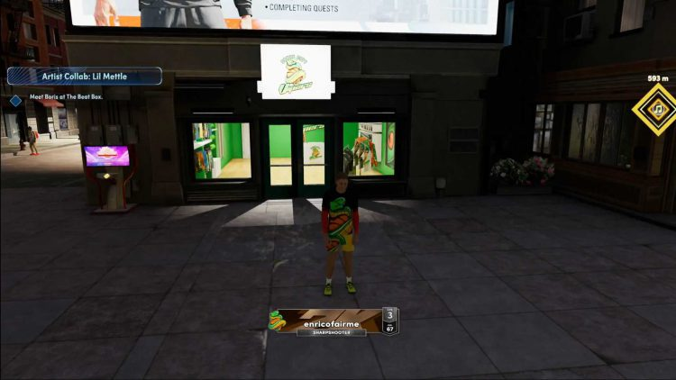 Image showing the Unique Outfit in NBA 2K22.