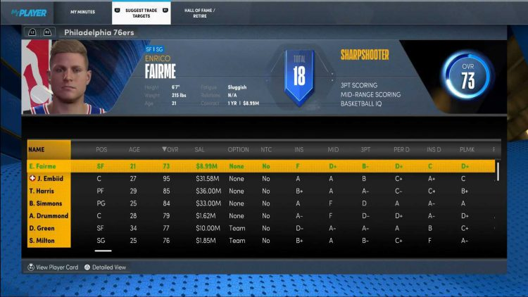 Image showing how to Influence Trades in NBA 2K22.