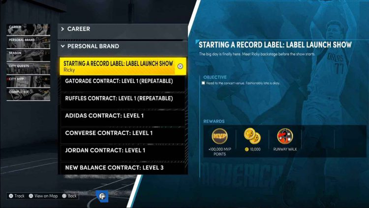 Image showing how to unlock the Penthouse in NBA 2K22.