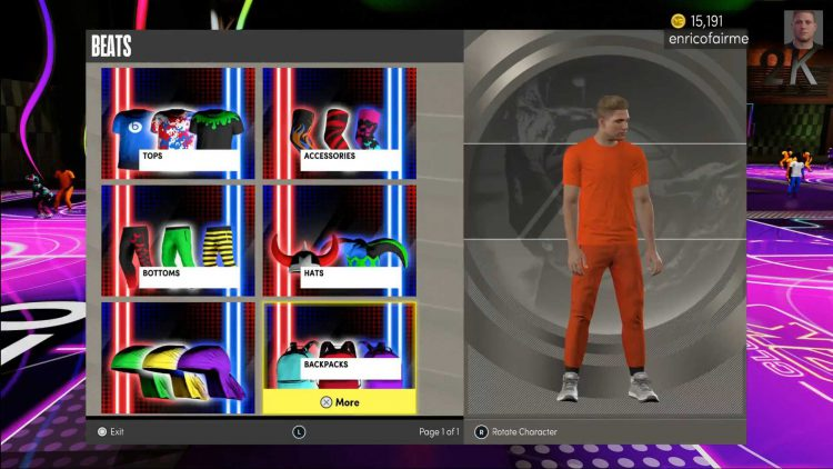 Image showing the NBA 2K22 Club 2K store.